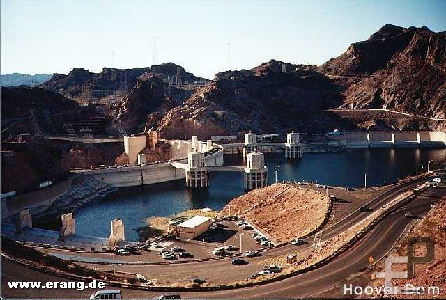 Hoover Dam an der Grenze zu Arizona